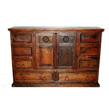 Dark Mansion Dresser W/ Star