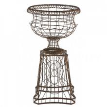 See Details - French Planter with Curved Base