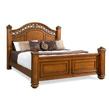 Barkley Square King Poster Bed Oak
