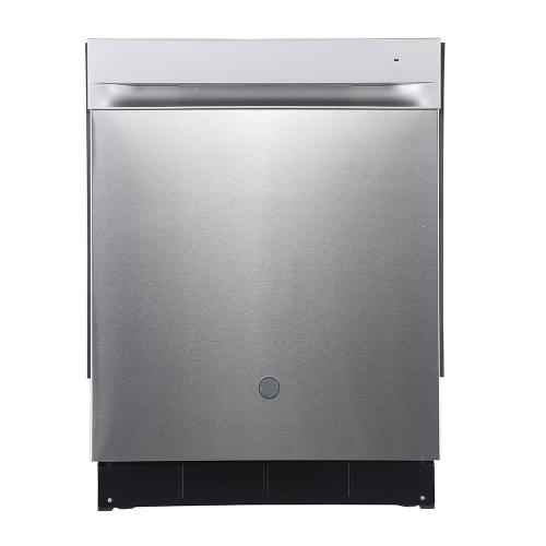 "GE 24"" Built-In Top Control Dishwasher with Stainless Steel Tall Stainless Steel - GBP534SSPSS"