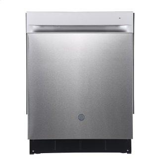 """GE 24"""" Built-In Top Control Dishwasher with Stainless Steel Tall Stainless Steel - GBP534SSPSS"""