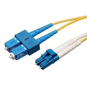 Duplex Singlemode 9/125 Fiber Patch Cable (LC/SC), 1M (3 ft.)