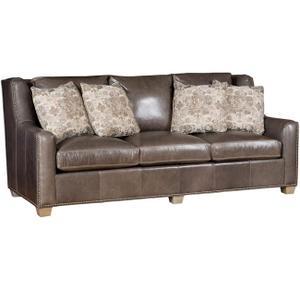 King Hickory - Drake Leather Sofa