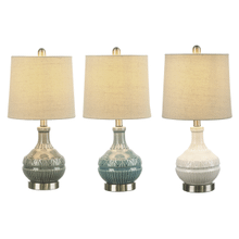 Tribal Embossed Accent Lamp. 40W Max. (3 pc. ppk.)