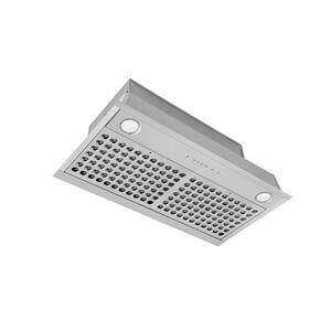 Alefrun 28-in. 600 CFM Stainless Steel Power Pack Range Hood Insert with PURLED Light System