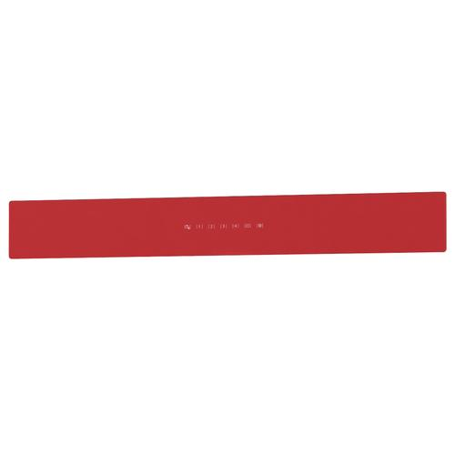 BEST Range Hoods - WCB3 & ICB3 36'' Front Glass Panel Red