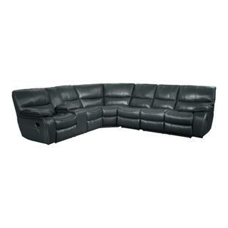 See Details - Reclining Sectional w/ Console