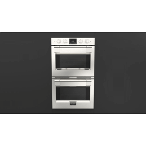 """Fulgor Milano30"""" Pro Double Oven - Stainless Steel"""