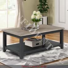 Product Image - Rectangular Cocktail Table- Navy