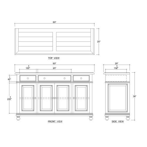 Farmhouse Sideboard