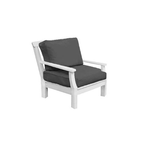 Seaside Casual - Nantucket Lounge Chair (2 pc set) Cushion (825R)