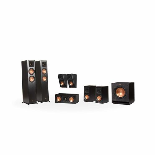 Klipsch - RP-5000F 7.1 Home Theater System - Walnut