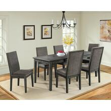 See Details - South Paw Dark Gray 7 Piece Dining Set