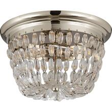 Visual Comfort CHC4207PS-SG E F Chapman Paris Flea Market 2 Light 13 inch Polished Silver Flush Mount Ceiling Light