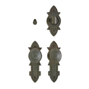 """Briggs Privacy Set - 2 3/8"""" x 7"""" Silicon Bronze Brushed Product Image"""