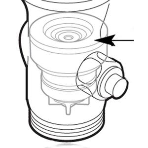 Commercial flush valve piston control disc Product Image
