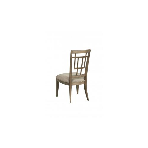 WoodWright Champagne Rohe Side Chair
