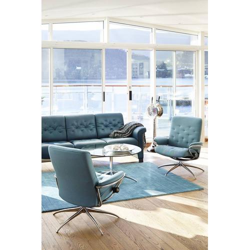 Stressless By Ekornes - Metro chair low back high base