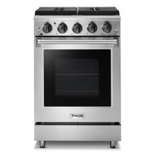 See Details - 24 Inch Freestanding Gas Range In Stainless Steel