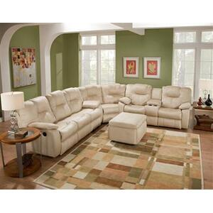 Double Reclining Sofa and Loveseat Set
