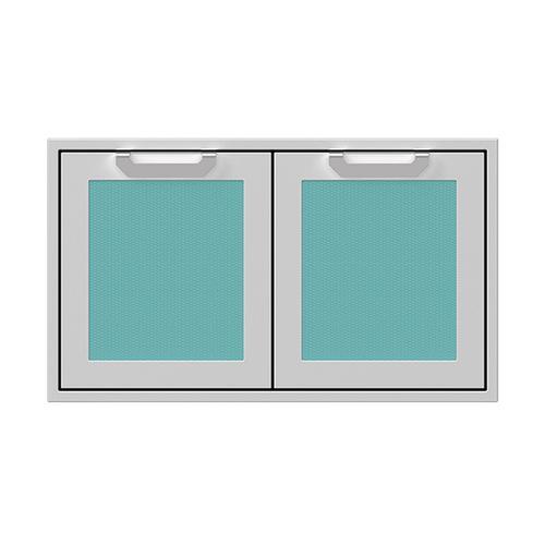 "Hestan - 36"" Hestan Outdoor Double Access Doors - AGAD Series - Bora-bora"