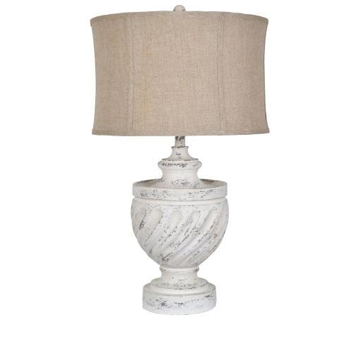 Swirled Table Lamp