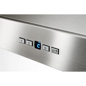 """WPP9 - 42"""" Stainless Steel Chimney Range Hood with iQ6 Blower System, 800 Max CFM"""