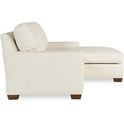 Bradington Young Hanley LAF Stationary Loveseat 8-Way Tie 223-57