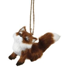 Sitting Fox Ornament