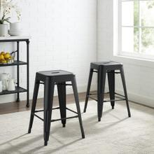 AMELIA 2PC BACKLESS COUNTER STOOL SET