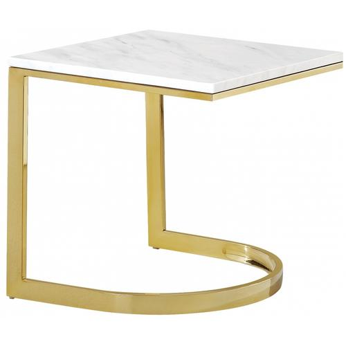 "London Gold End Table - 20"" W x 20"" D x 21"" H"