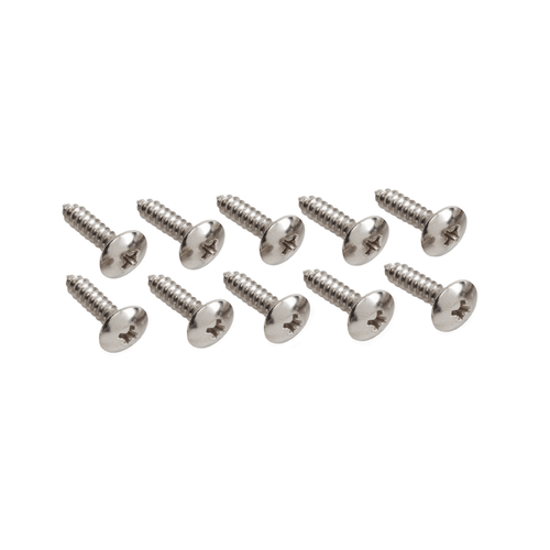 """10x3/4"""" Philips Head - Tempered Screws (10 Pack)"""