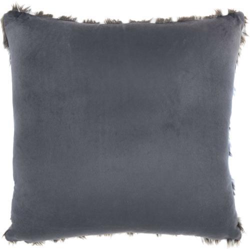 "Inspire Me! Home Decor Vv560 Charcoal 24"" X 24"" Throw Pillow"