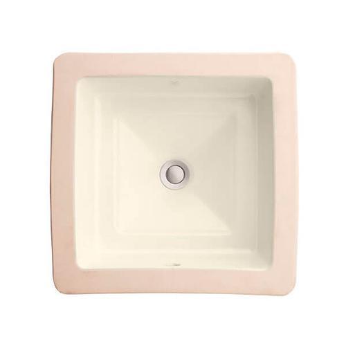 Dxv - Pop Square Under Counter Bathroom Sink - Biscuit
