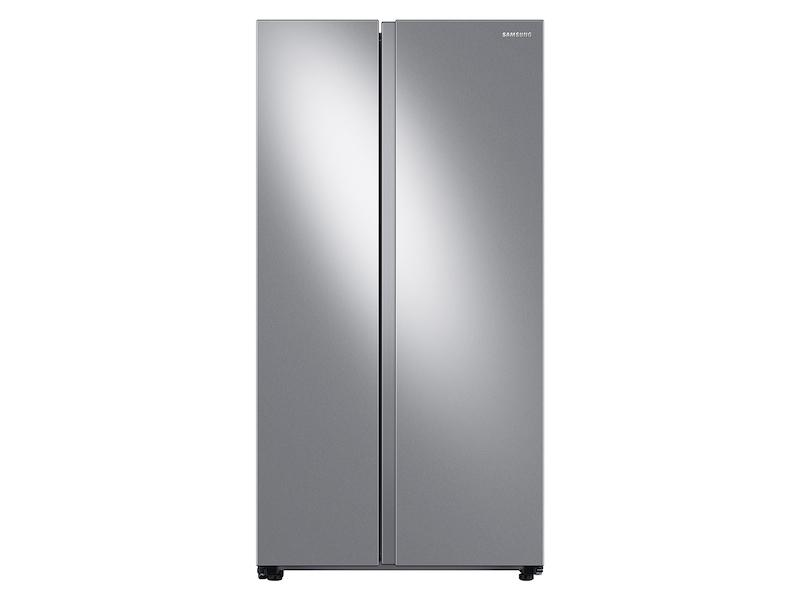 Samsung23 Cu. Ft. Smart Counter Depth Side-By-Side Refrigerator In Stainless Steel