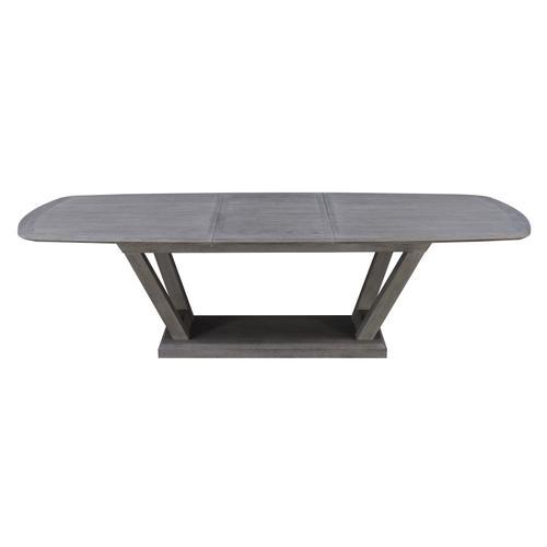 Carrera Dining Table, Slate Gray D905-10-k