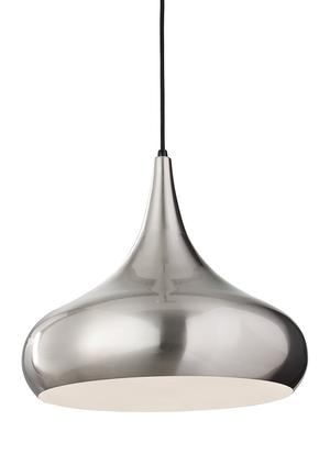 Belle Large Pendant Brushed Steel Product Image
