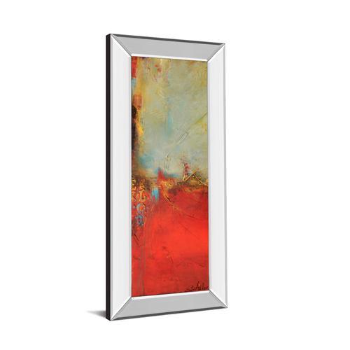 """Chicago St. Rush I"" By Erin Ashley Mirror Framed Print Wall Art"