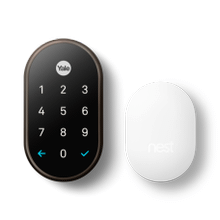 Nest x Yale Lock with Nest Connect, Oil Rubbed Bronze