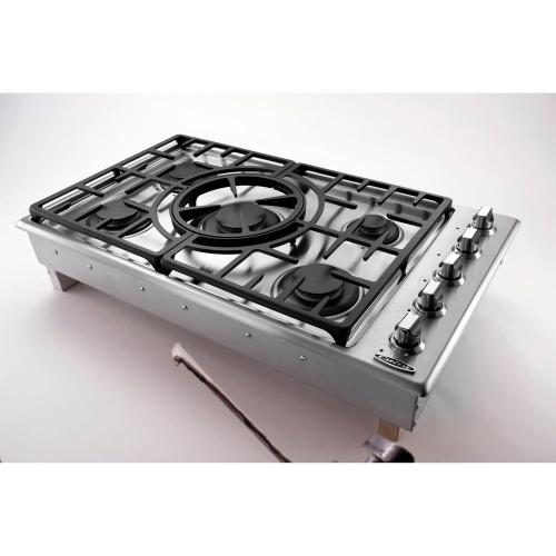 "Capital MCT365GS  36"" 5 Burner Drop-In Gas Cooktop - Natural Gas"