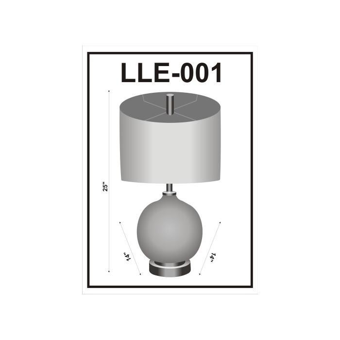 """Product Image - Allie LLE-001 25""""H x 14""""W x 14""""D"""