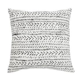 Sarden Pillow - Black / White