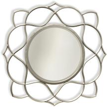Saber Silver  Transitional  Metal Wall Mirror