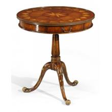 Empire style lamp table