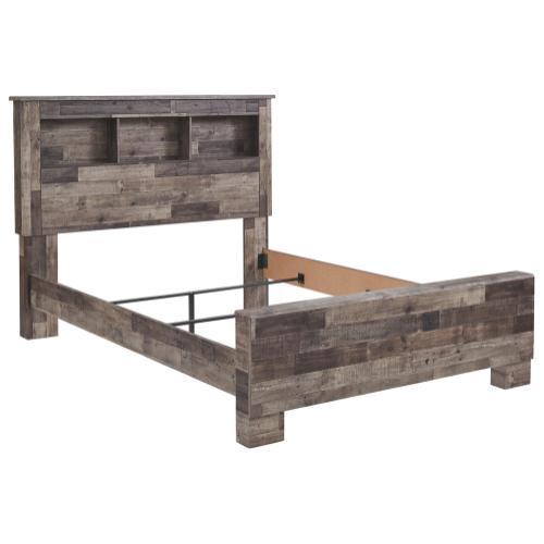 Derekson Queen Panel Bookcase Bed