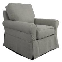 Product Image - Horizon Slipcovered Swivel Rocking Chair - Color 391094