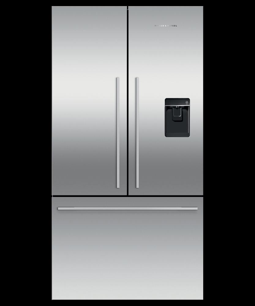 """Freestanding French Door Refrigerator Freezer, 36"""", 20.1 cu ft, Ice & Water Photo #2"""