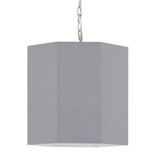 Product Image - 1lt Pendant, PC W/ Gry Shade