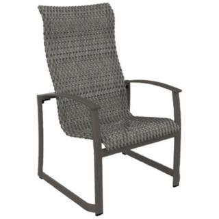 See Details - MainSail Woven High Back Dining Chair