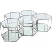 "Sei Modular 5 Piece Coffee Table - 60"" W x 40.5"" D x 16.5"" H"